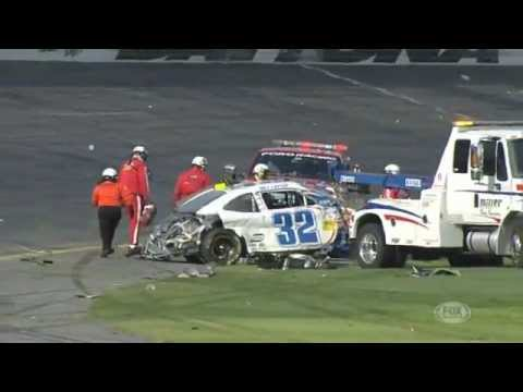 Huge wreck occurs on last lap of Nationwide race at Daytona   NASCAR News   FOX Sports on MSN