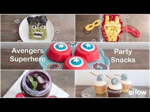 Marvel's Avengers Superhero Party Snacks
