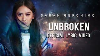 Sarah Geronimo - Unbroken [Official Lyric Video]