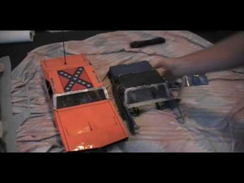 How To Make A  Metal Rc Car Body   Part 1