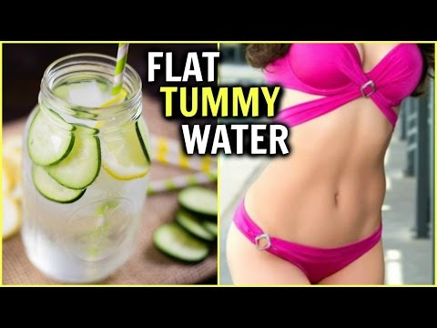 BELLY FAT WEIGHT LOSS DRINK │HOW TO LOSE BELLY FAT IN 1 WEEK │FLAT TUMMY WATER RECIPE FAST YUMMY DIY