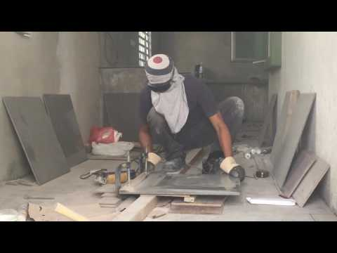1) DIY - Cutting Tile With an Angle Grinder