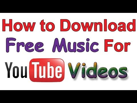 HOW TO DOWNLOAD MUSIC FOR YOUTUBE VIDEO