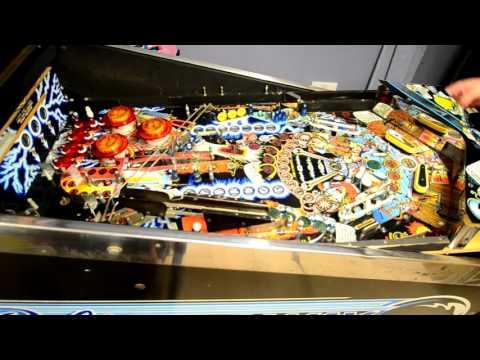Bally Strange Science - Playfield strip and service