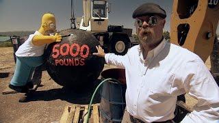 Homer Simpson Vs Wreaking Ball | Mythbusters10