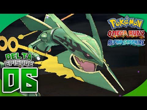 Pokémon Omega Ruby and Alpha Sapphire Walkthrough (Delta Episode) - Part 6: MEGA RAYQUAZA!