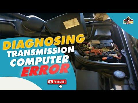 Diagnosing Transmission Computer Error