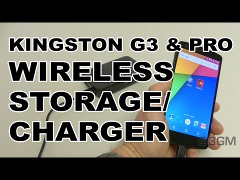 #1769 - Kingston MobileLite G3 & Pro Wireless Storage/Charger Video Review