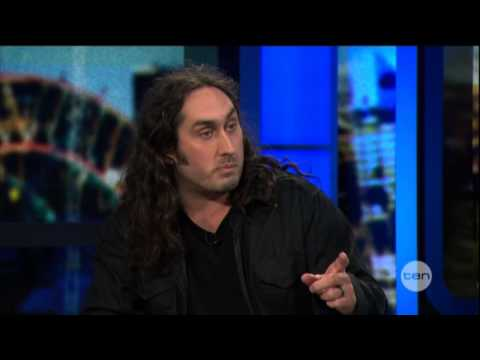 Ross Noble interview (2013) - The Project