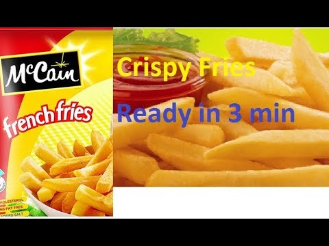 McCain French fries how to cook and product details| UNboxing product