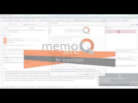 Monolingual review and tracked changes in memoQ