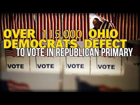 MASS EXODUS: OVER 115,000 OHIO DEMOCRATS DEFECT TO VOTE IN REPUBLICAN PRIMARY