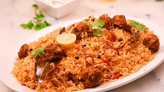 Mutton Moti Pulao Recipe by SooperChef