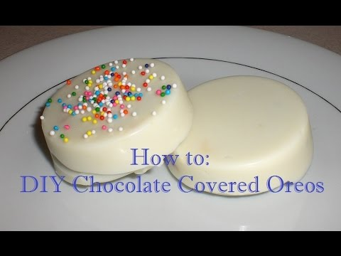 How to: DIY Chocolate Covered Oreos