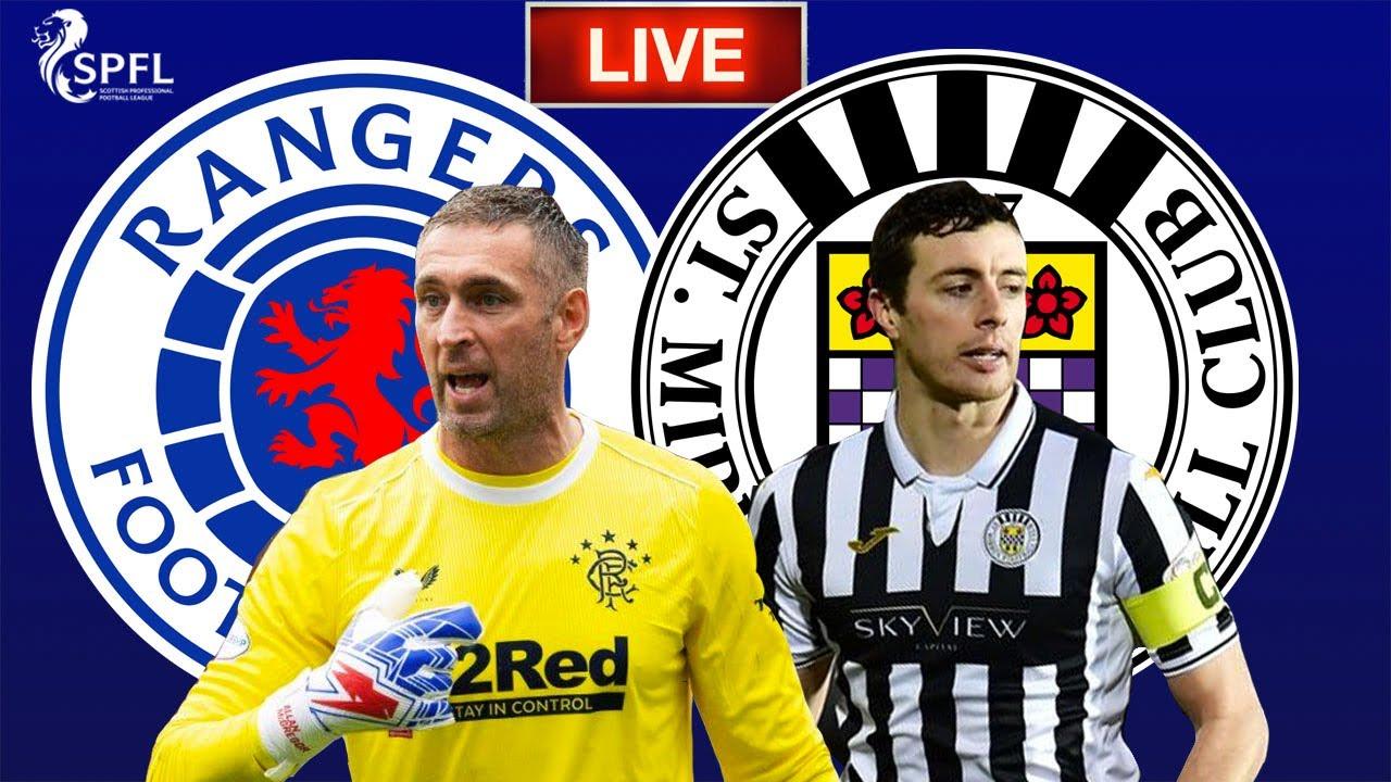 Rangers vs St Mirren Live Stream HD - Scottish Premiership