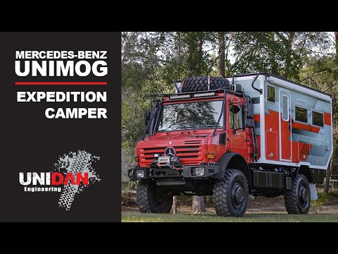 2019 Mercedes Unimog and G-Class - Off-Road Capabilities
