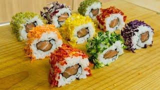 Dehydrated Veggies on Sushi - Sushi Cooking Ideas #3