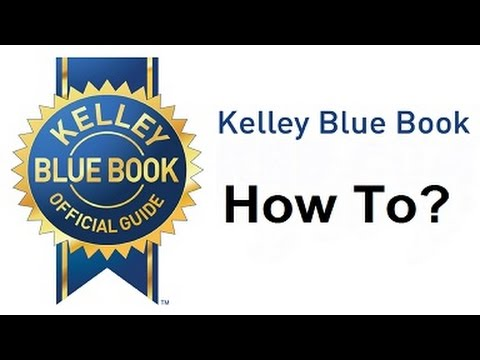 Does Kelley Blue Book Show Accurate Values?