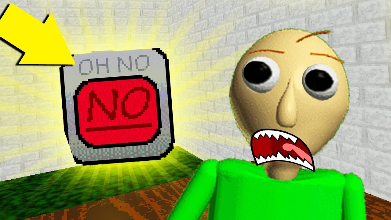 THIS IS THE MOST POWERFUL ITEM IN BALDI'S BASICS EVER! | Baldi's Basics