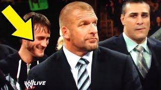 10 Times WWE Wrestlers & Announcers Broke Character & Caught Laughing on Camera!