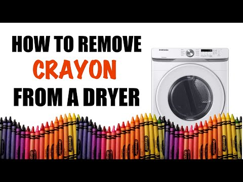 BG Vlog: How to Remove Crayon from a Dryer