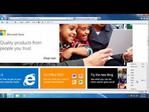 Learn Windows 7 - Internet Explorer Toolbars