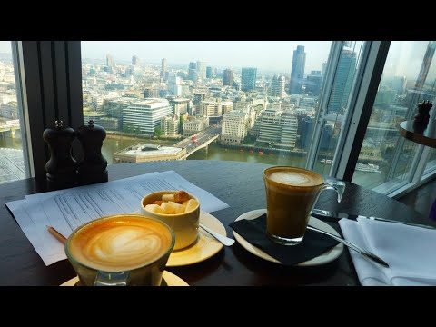 Breakfast in the Sky at 31st floor of The Shard in London