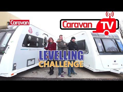 Caravan Levelling Challenge video review! Can a Self-Levelling system do the job?