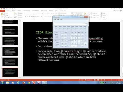 Tutorial 2: Subnet Conversions (Binary, Decimal, and Hexadecimal) with Windows Calculator