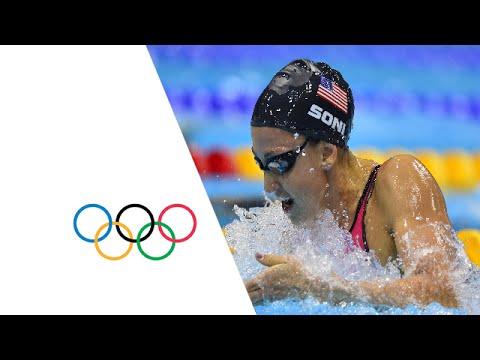 Rebecca Soni Breaks World Record - 200m Breaststroke | London 2012 Olympics