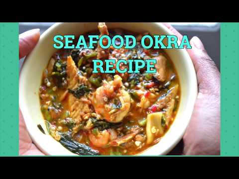 HOW TO MAKE OKRA SOUP - SEAFOOD OKRO SOUP RECIPE - CHEF BELLEFULL