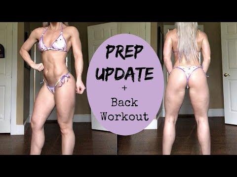 Bikini Prep Update | FULL BACK WORKOUT