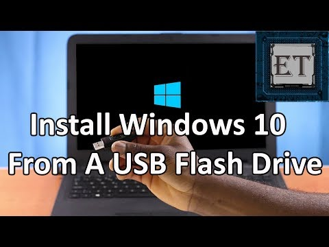 How to Install Windows 10 From a USB Flash Drive | Step by Step + Free Activation (2018)