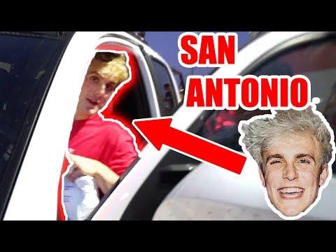 JAKE PAUL COMES TO SAN ANTONIO!! **HURRICANE HARVEY HELP**