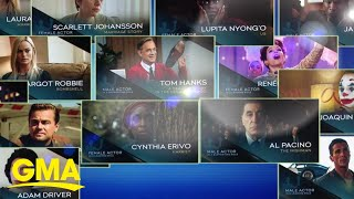 Previewing the Screen Actors Guild Awards | GMA