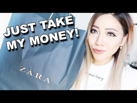 HUGE ZARA TRY ON HAUL AUTUMN NEW COLLECTION 2017