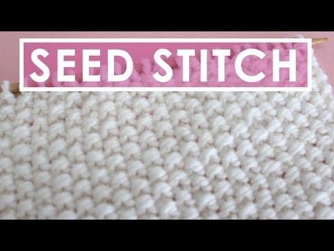 SEED Knit Stitch Pattern
