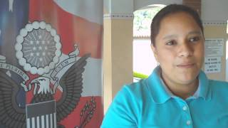 US Embassy San Salvador Media Course Video1 with Maria Ines Olivares