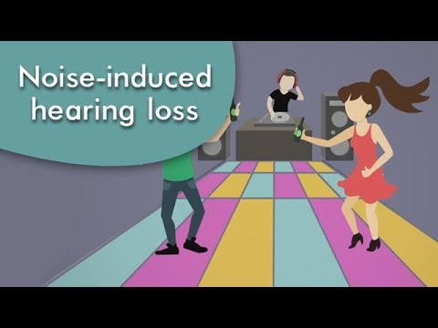 Avoid a noise-induced hearing loss