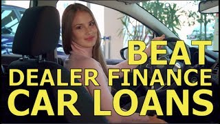 "TOP 10 TIPS - BEAT the CAR DEALER FINANCE OFFICE -Best ""How to"" Auto F&I and Vehicle Loan Advice"