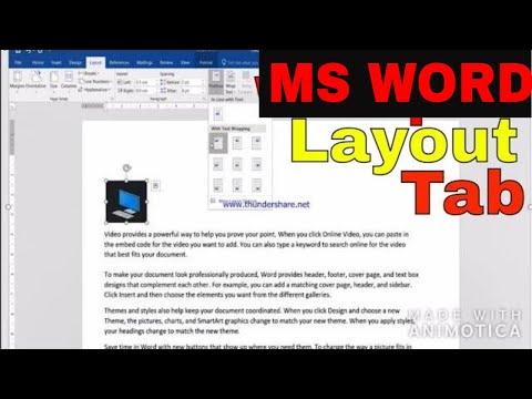 WORDPAD Layout Tab || Change Wordpad Layout || Learn Wordpad Part--5 || WORDPAD IN HINDI