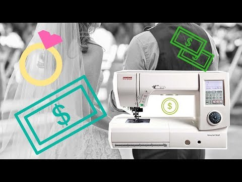 My Sewing Machine Cost More Than My Wedding 💍 | LIVE SHOW | SEWING REPORT