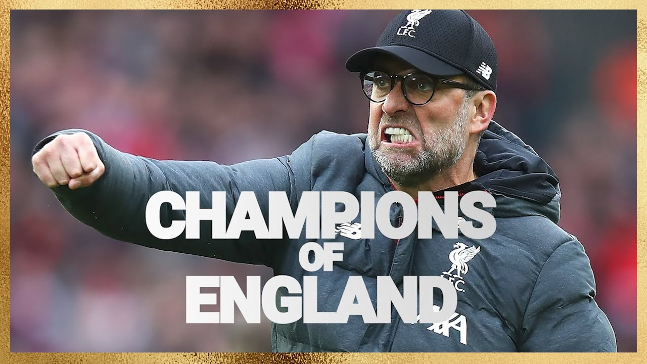 We Are Liverpool. Champions of England.