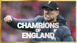 Ми - Ліверпуль. Чемпіони Англії.