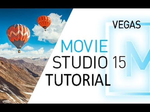 Movie Studio 15 - Full Tutorial for Beginners [+General Overview]