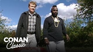 Conan Goes Apple Picking With Mr. T - Conan25: The Remotes