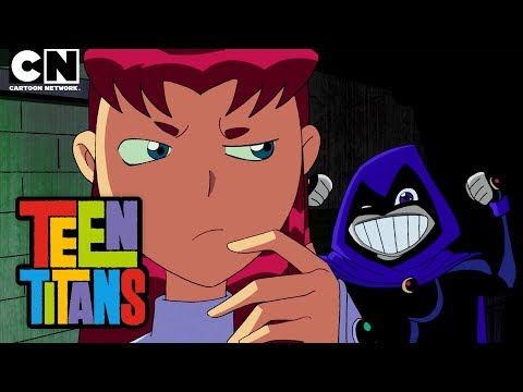 Teen Titans | Raven and Starfire Switch Bodies | Cartoon Network