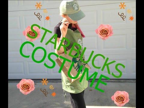 Diy: Starbucks Worker Costume!