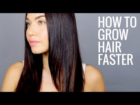 HOW TO GROW LONG HEALTHY HAIR FAST | How to get Naturally Thicker, Fuller, Longer Hair