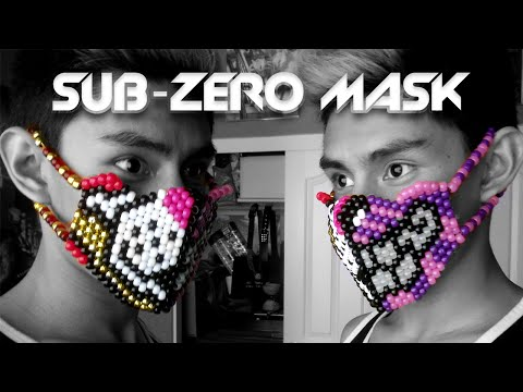 Half-Face (Sub-Zero) Kandi Mask Tutorial